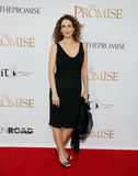 Melina Kanakaredes. At the Los Angeles premiere of `The Promise` held at the TCL Chinese Theatre in Hollywood, USA on April 12, 2017 Stock Image