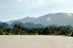 Melinau Paku River - Mulu National Park - Borneo Stock Photos