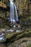 Melincourt vattenfall Stillsam hög vattenfall Royaltyfria Foton