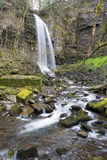 Melincourt Waterfall near Resolven, South Wales Royalty Free Stock Image