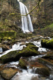Melincourt waterfall Royalty Free Stock Images