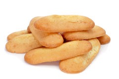 Melindros, typical pastries of Catalonia, Spain Stock Images