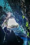 Melisani sjö Fotografering för Bildbyråer