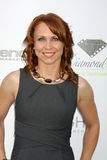 Melissa Barker. LOS ANGELES - OCT 16: Melissa Barker arriving at the 2011 Stuntwomen Awards at the Skirball Cultural Center on October 16, 2011 in Los Angeles stock image