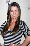 Melissa Claire Egan arrives at the ATAS Daytime Emmy Awards Nominees Reception Royalty Free Stock Photography