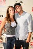 Melissa Claire Egan, Theo Rossi imagem de stock royalty free