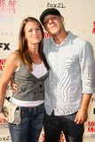 Melissa Claire Egan,Theo Rossi Royalty Free Stock Image