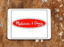 Melissa & Doug zabawek wytwórcy logo Zdjęcia Stock