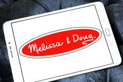 Melissa & Doug zabawek wytwórcy logo Zdjęcia Royalty Free