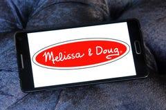 Melissa & Doug zabawek wytwórcy logo Obrazy Royalty Free