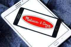 Melissa & Doug zabawek wytwórcy logo Fotografia Stock
