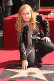 Melissa Etheridge. At trhe  Star on The Hollywood Walk of Fame, Hollywood, CA 09-27-11 Royalty Free Stock Photos