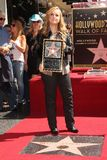 Melissa Etheridge. At trhe  Star on The Hollywood Walk of Fame, Hollywood, CA 09-27-11 Royalty Free Stock Images