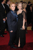 Melissa Etheridge, Tammy Lynn Michaels stock foto's