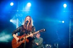 Melissa Horn am Friedens- und Liebesfestival Lizenzfreie Stockfotografie