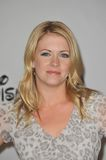 Melissa Joan Hart. Star of 'Melissa & Joey' - at the Disney ABC TV All Star Mixer at the Beverly Hilton Hotel, Beverly Hills, CA. August 1, 2010 Los Angeles royalty free stock image