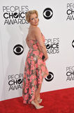 Melissa Joan Hart. LOS ANGELES, CA - JANUARY 8, 2014: Melissa Joan Hart at the 2014 People's Choice Awards at the Nokia Theatre, LA Live stock images