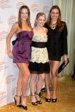 Melissa Joan Hart, Natalie Coughlin, Edyta Sliwinska foto de stock