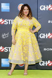 Melissa McCarthy. At the World premiere of 'Ghostbusters' held at the TCL Chinese Theatre in Hollywood, USA on July 9, 2016 stock photography