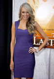 Melissa Ordway. At the Los Angeles premiere of 'The Last Song' held at the ArcLight Cinemas in Hollywood, USA on March 25, 2010 royalty free stock photo
