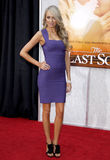 Melissa Ordway. At the Los Angeles premiere of 'The Last Song' held at the ArcLight Cinemas in Hollywood, USA on March 25, 2010 royalty free stock image