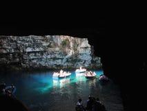 Melissani Höhle Stockbild