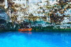 Melissani Lake (Kefalonia, Greece) Royalty Free Stock Photo