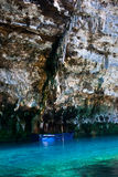 Melissani Lake, Kefalonia Royalty Free Stock Image