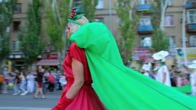 Melitopol, Ukraine, June 18, 2021. Cherry Festival.