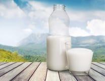 melk stock foto's