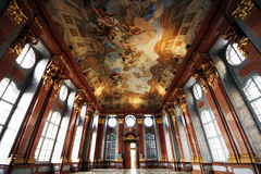 Melk Abbey. Interior of Melk Abbey (Stift Melk) - famous Benedictian monastery in Austria Stock Images