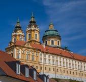 Melk Abbey Austria Lizenzfreies Stockfoto