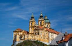 Melk Abbey Austria Fotografía de archivo libre de regalías