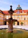 Melk Abbey courtyard Stock Image