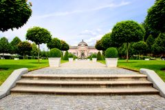 Melk Abbey gardens Royalty Free Stock Photo