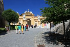 Melk Abbey Gate Royalty Free Stock Image