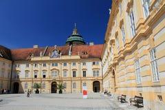 Melk Abbey interior court Royalty Free Stock Photo