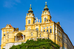 Melk Abbey Largest Catholic Library In die Welt Lizenzfreies Stockfoto