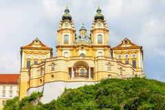 Melk Abbey Monastery, Österrike Royaltyfria Bilder