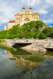 Melk Abbey Monastery, Austria Foto de archivo
