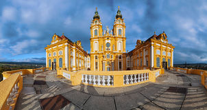 Melk Abbey panorama Stock Images