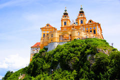 Melk Abbey. View of the historic Melk Abbey, Austria Stock Image