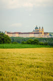 The Melk Abbey in the Wachau valley Stock Images