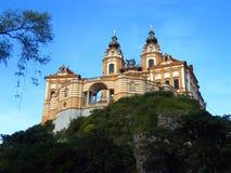Melk Abtei - Österreich Lizenzfreies Stockfoto