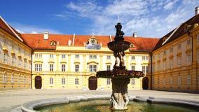 Melk Abtei, Österreich Stockbild