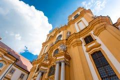 Melk Abtei, Österreich Stockfotografie