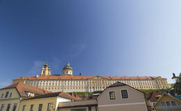 Melk, Austria. View of the historic Melk Abbey, Austria Royalty Free Stock Images
