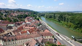 The Melk city Royalty Free Stock Image