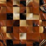 Melk en donkere chocolade Royalty-vrije Stock Fotografie