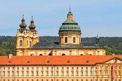 Melk - Famous Baroque Abbey (Stift Melk), Austria Stock Images
